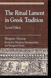 The Ritual Lament in Greek Tradition