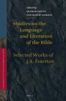 Studies on the Language and Literature of the Bible PDF