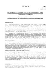 Lignes directrices de l'OCDE pour les essais de produits chimiques, Section 2 Essai n° 237 : Essai de toxicité larvaire chez l'abeille domestique (Apis mellifera), par exposition unique