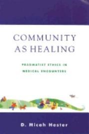 Community as Healing PDF