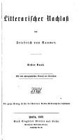 Litterarischer Nachlass PDF