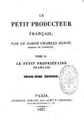 Le petit producteur français: Volumes1à3;Volume5