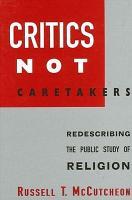 Critics Not Caretakers PDF
