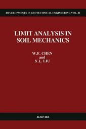 Limit Analysis in Soil Mechanics