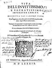 Vita dell'inuittissimo e sacratissimo imperator Carlo V