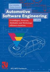 Automotive Software Engineering: Grundlagen, Prozesse, Methoden und Werkzeuge effizient einsetzen, Ausgabe 3