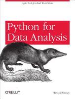 Python for Data Analysis PDF