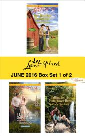 Harlequin Love Inspired June 2016 - Box Set 1 of 2: Her Rancher Bodyguard\Lakeside Sweetheart\Falling for the Hometown Hero