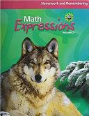 HMH MATH EXPRESSIONS CALIFORNI PDF