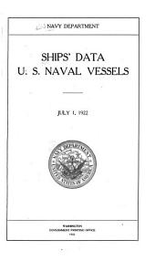 Ships' Data, U.S. Naval Vessels