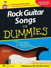 Rock Guitar Songs for Dummies (Music Instruction)