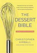 Download The Dessert Bible Book