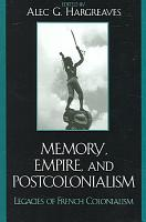 Memory  Empire  and Postcolonialism PDF