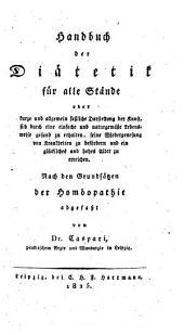Handbuch der Diätetik für alle Stände (etc.)