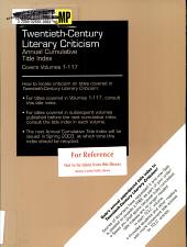 Twentieth Century Literary Criticism Annual Cumulative Title Index PDF