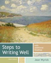 Steps to Writing Well with Additional Readings: Edition 9