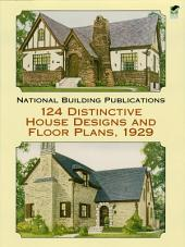 124 Distinctive House Designs and Floor Plans, 1929