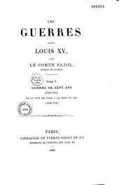 Les Guerres sous Louis XV: Volume5