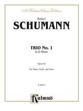 Trio No. 1, Opus 63: For Violin, Viola and Cello