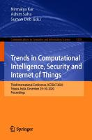 Trends in Computational Intelligence  Security and Internet of Things PDF