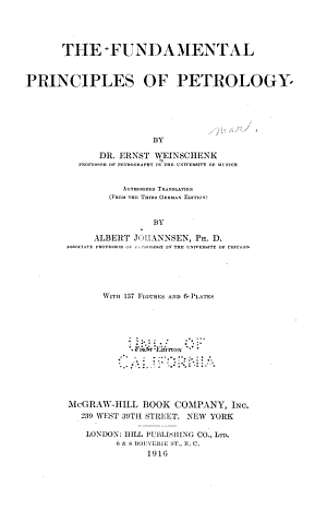 The Fundamental Principles of Petrology