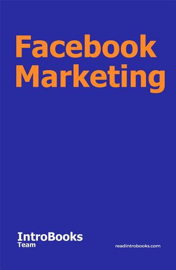 Facebook Marketing PDF
