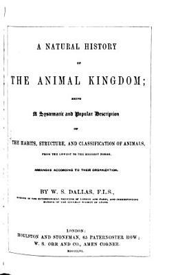 A Natural History of the Animal Kingdom PDF
