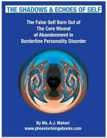 The Shadows and Echoes of Self   The False Self In Borderline Personality Disorder PDF