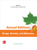 Annual Editions: Drugs, Society, and Behavior