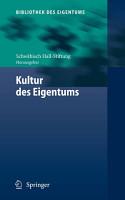 Kultur des Eigentums PDF