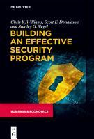 Building an Effective Security Program PDF