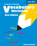 Vocabulary Workshop Level Blue  New Edition  Book