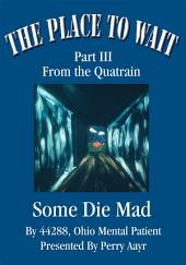 The Place To Wait: Part III of the quatrain<br><b><i>Some Die Mad</b></i>