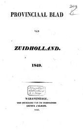 Provinciaal blad van Zuid-Holland: Volume 20