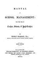 Manual of School Management     Second edition PDF