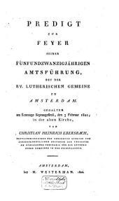 Aanspraak bij het graf van wijlen Augusta Louisa Ebersbach