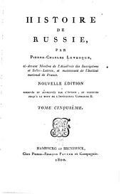 Histoire de Russie: Volume5
