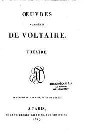 Oeuvres complètes de Voltaire: Volume2