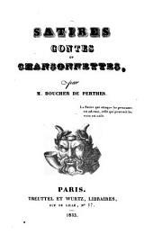 Satires, contes et chansonnettes