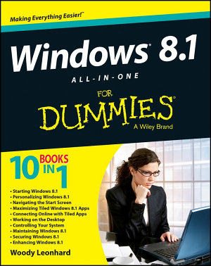 Windows 8 1 All in One For Dummies