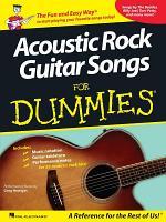 Acoustic Rock Guitar Songs for Dummies (Songbook)