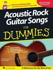 Acoustic Rock Guitar Songs for Dummies (Songbook)