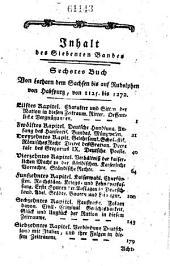 Geschichte der Deutschen: Bände 7-8