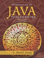 Introduction to Java Programming  Brief Version PDF