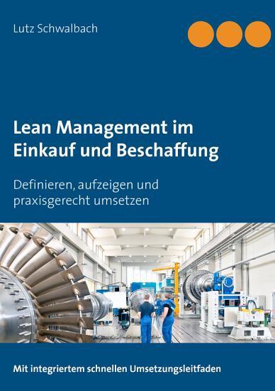 Lean Management im Einkauf und Beschaffung PDF