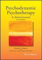 Psychodynamic Psychotherapy PDF