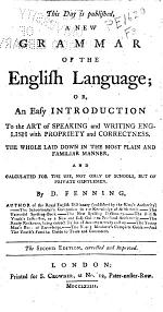 The New and Complete Spelling Dictionary