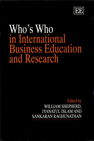 Who s who in International Business Education and Research PDF