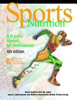 Sports Nutrition PDF