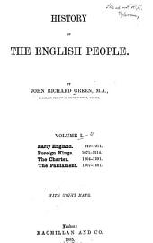 History of the English People: Volume 1